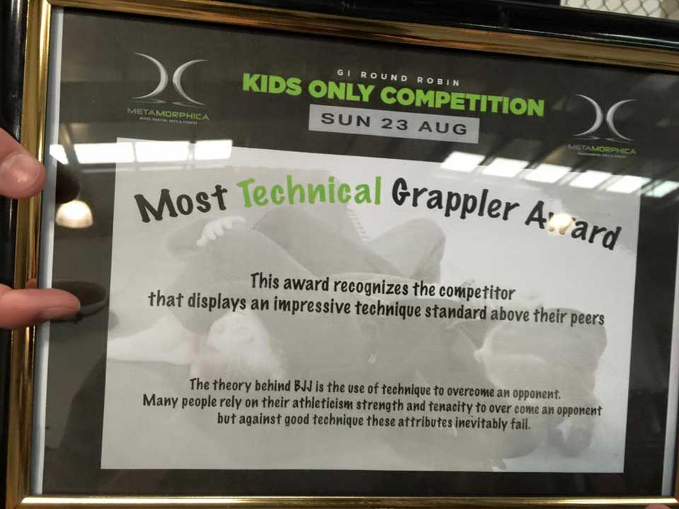 Most Technical Grappler